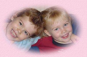 Roxane et sa soeur Margaux